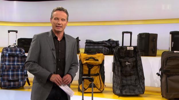 Video «Roll-Reisetaschen im Test: Nicht alle kommen ganz an» abspielen