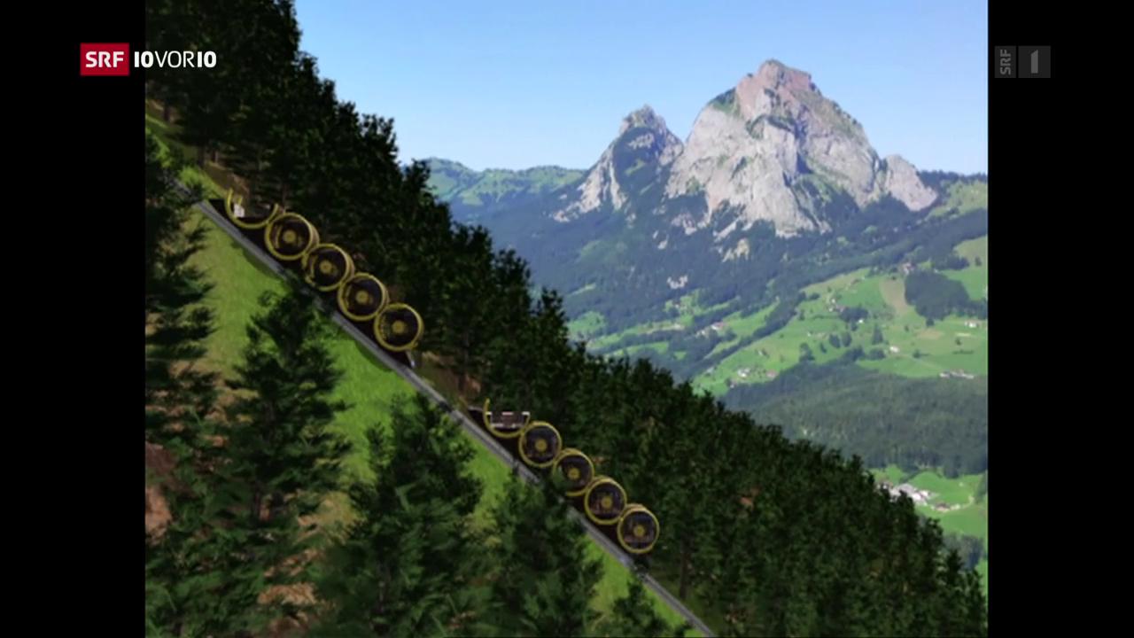Neu designte Bergbahnen sind im Trend