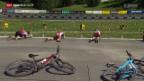 Video «Bike-Biathlon: Der Event auf der Lenzerheide» abspielen