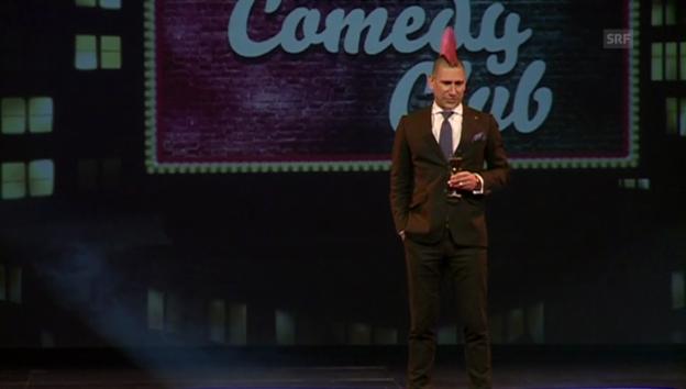 Video «Ernsthafte Humoristen: Andreas Thiel und Michael Elsener» abspielen