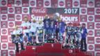 Video «Aegerter bei Langstrecken-WM in Suzuka auf dem Podest» abspielen