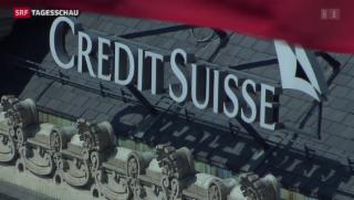 Video «Credit Suisse knackt Milliarden-Grenze bei Reingewinn» abspielen