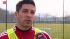 Video «Fussball: Davide Calla vor Basel - Aarau» abspielen