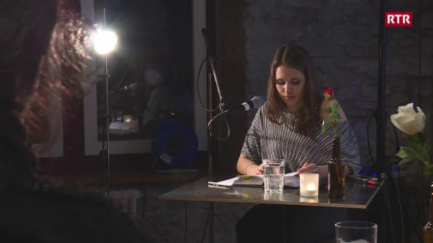 Laschar ir video «Ina saira litterara a Lenzburg»