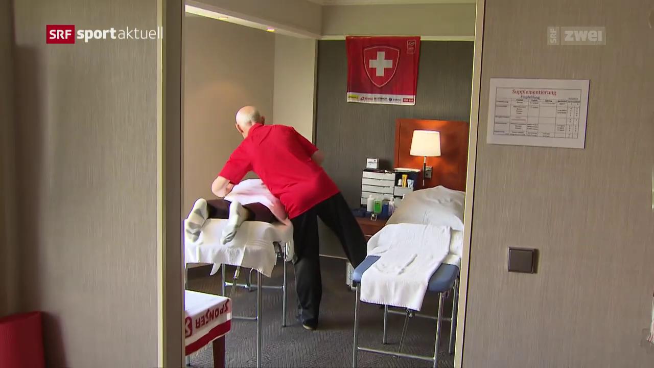 Wie die Schweiz den Ruhetag an der WM verbracht hat