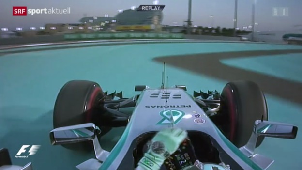 Video «Formel 1: Qualifying in Abu Dhabi» abspielen