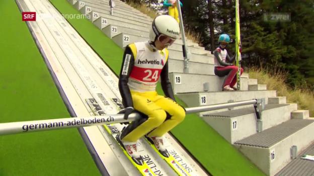 Video «Skispringen: Simon Ammann im Fokus» abspielen