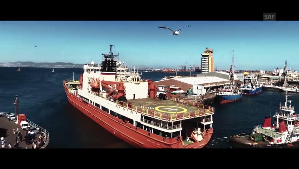 Das erste Video von der Schweizer Polarexpedition
