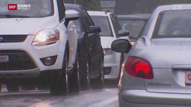 Video «Zuger Verkehrsproblem ungelöst» abspielen