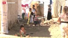 Video «Flüchtlinge haben Angst vor Militärschlag» abspielen