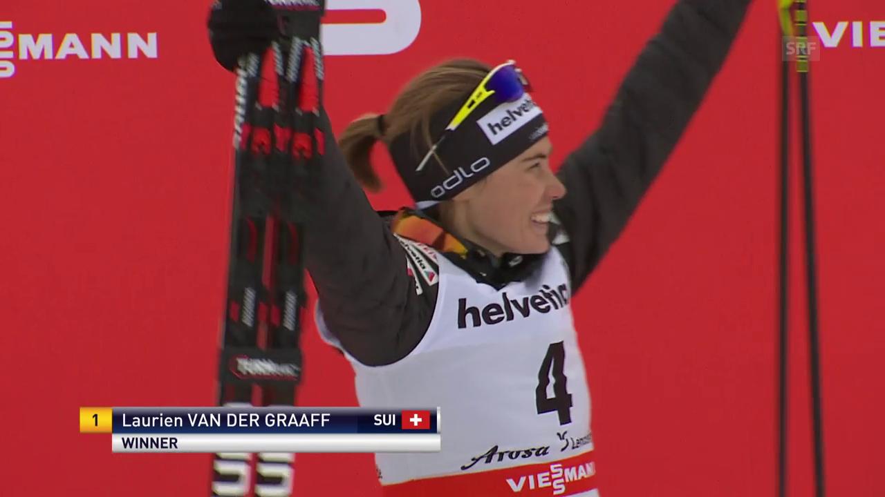 Van der Graaff triumphiert sensationell in Lenzerheide