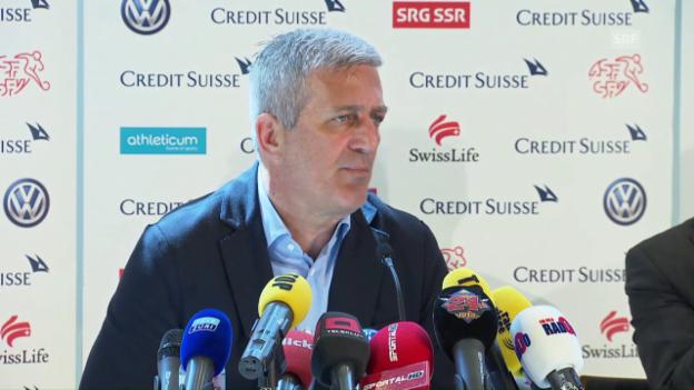 Video «Petkovic zu Kasami: «Ich brauche Spieler mit einem anderen Profil»» abspielen