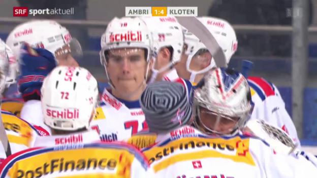 Video «Eishockey: NLA, 11. Runde, Ambri - Kloten» abspielen