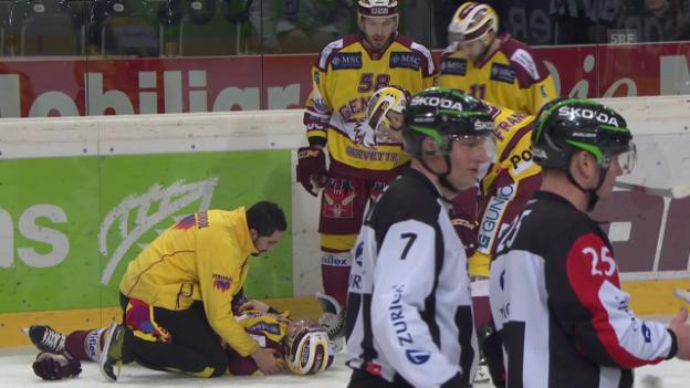 Video «Slater prallt mit Teamkollege zusammen» abspielen
