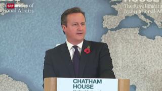 Video «Cameron stellt Forderungen an die EU» abspielen