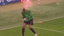 Video «12.04.2005: Spielabbruch bei Inter-Milan» abspielen
