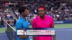 Video «Tsonga gibt gegen Djokovic auf» abspielen