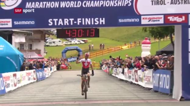 Video «Christoph Sauser triumphiert im Tirol («sportaktuell»)» abspielen