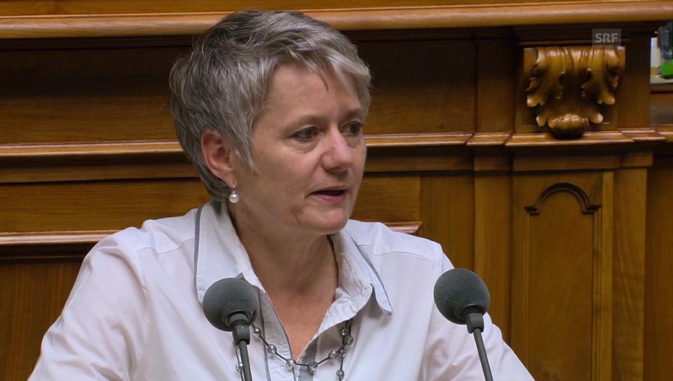 Jacqueline Fehr (SP/ZH) über den Plan von Economiesuisse