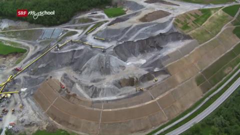 Bauen im Berg: Aufschütten und renaturieren (5/6)