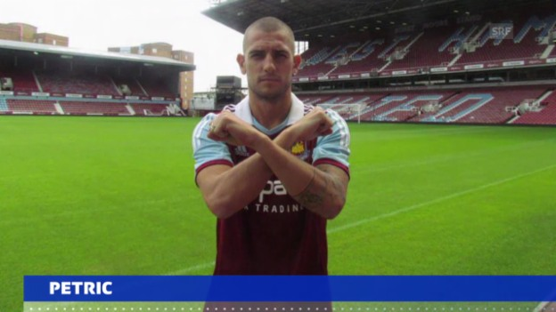 Video «Petric zu West Ham» abspielen