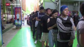Video «Klares Ergebnis in Thailand» abspielen