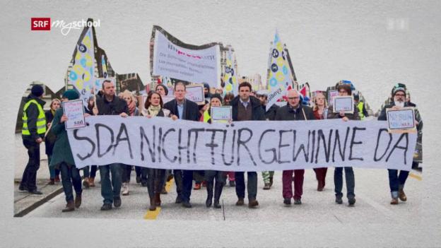 Video «Politik und Gesellschaft: Streiken (6/9)» abspielen