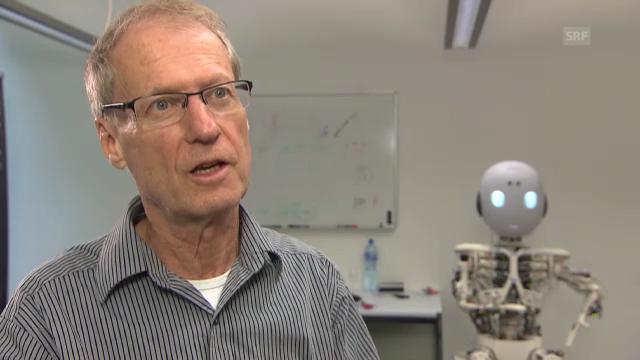 Professor Rolf Pfeifer über Industrieroboter