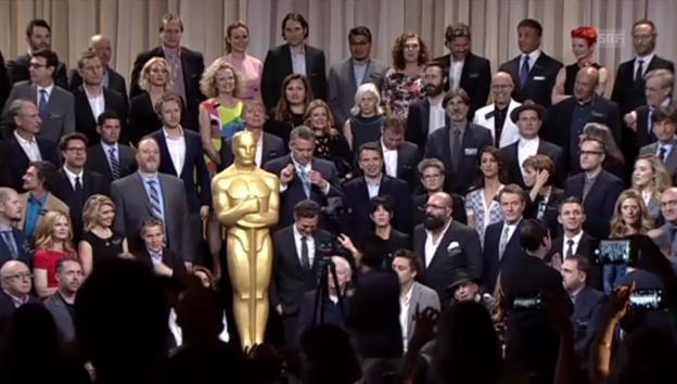 Video ««Lunch der Nominierten» in LA» abspielen