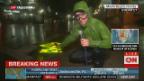 Video «US-Reporter an der Hurrikan-Front» abspielen