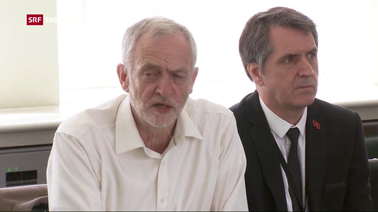 Labour-Chef Jeremy Corbyn unter Druck