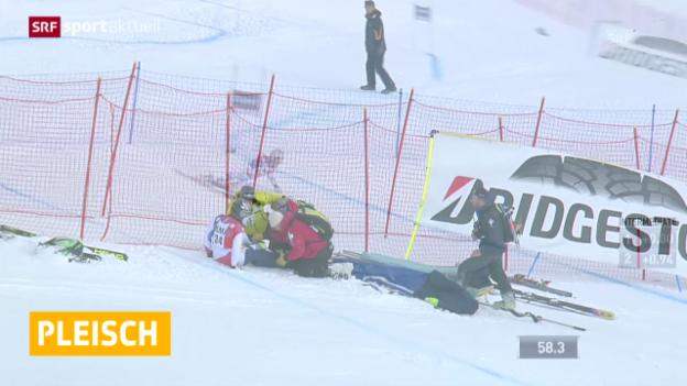 Video «Pleisch erfolgreich operiert («sportaktuell», 19.12.2013)» abspielen