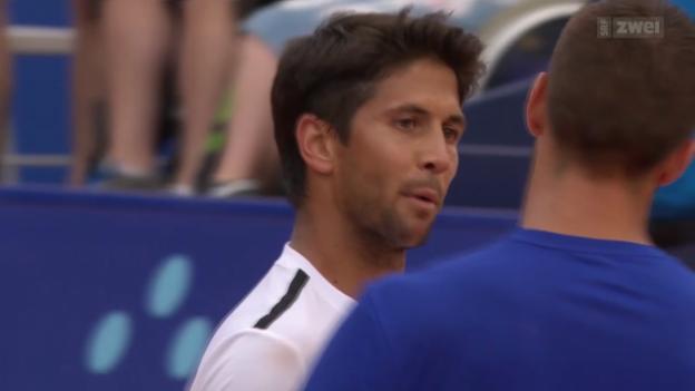 Video «Tennis: ATP Gstaad, Viertelfinals» abspielen