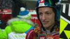 Video «Skispringen: Qualifikation Grossschanze, Interview mit Gregor Deschwanden (sotschi direkt, 14.02.2014)» abspielen