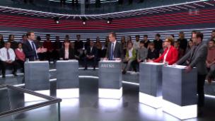 Video «Abstimmungs-Arena: «Strassen-Fonds NAF»» abspielen