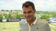 Video «Federer zum Paris-Final: «Es hat mir wehgetan»» abspielen