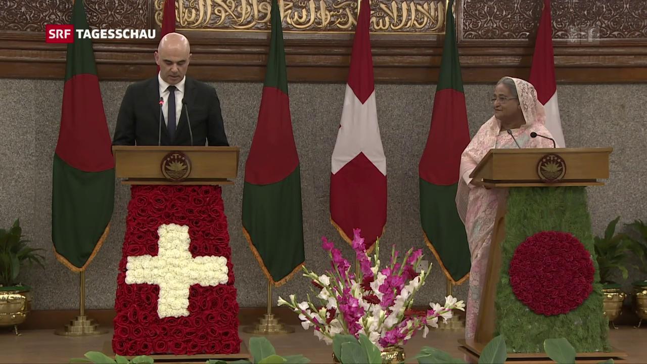 Schweizer Millionen für Rohingya