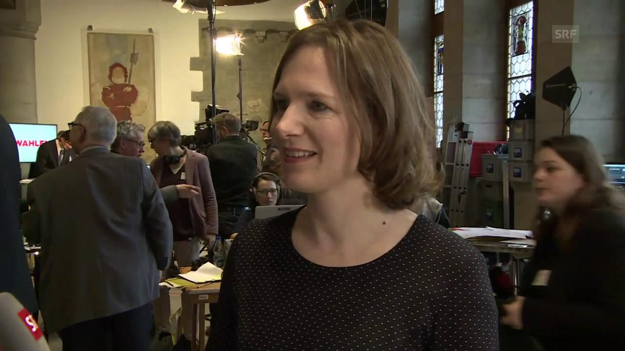 Evi Allemann im Interview