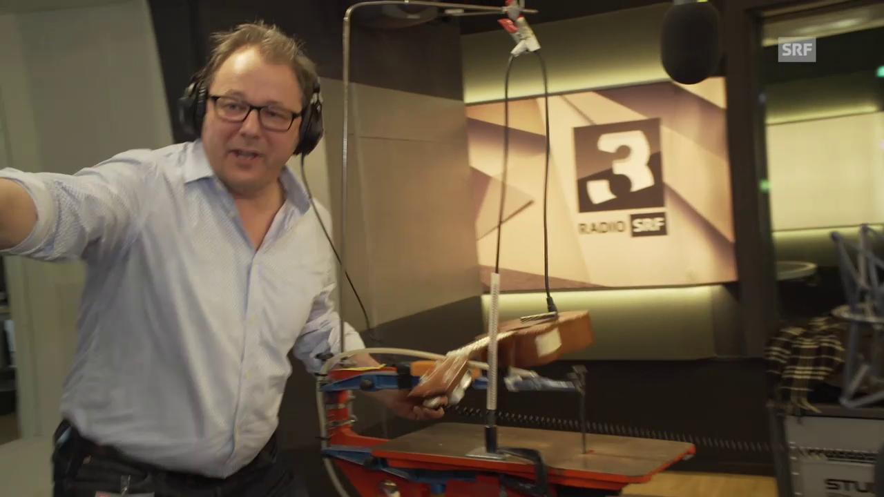 Live bei SRF 3: Der «Solomat» von Stefan Heuss