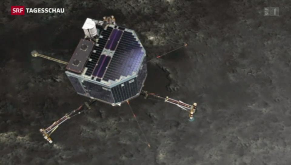 Zwei Landeplätze für «Rosetta»