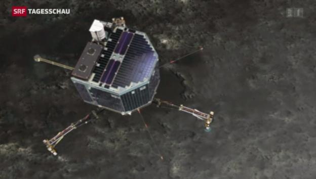 Video «Zwei Landeplätze für «Rosetta»» abspielen