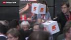 Video «CVP-Delegierte gegen Familieninitiative» abspielen