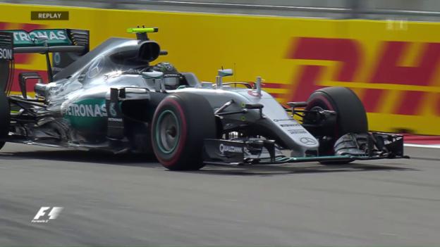 Video «Auch in Sotschi nichts Neues: Rosberg auf der Pole» abspielen