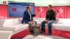 Video «Ski alpin: Studiogast Didier Défago im Gespräch Teil 1» abspielen