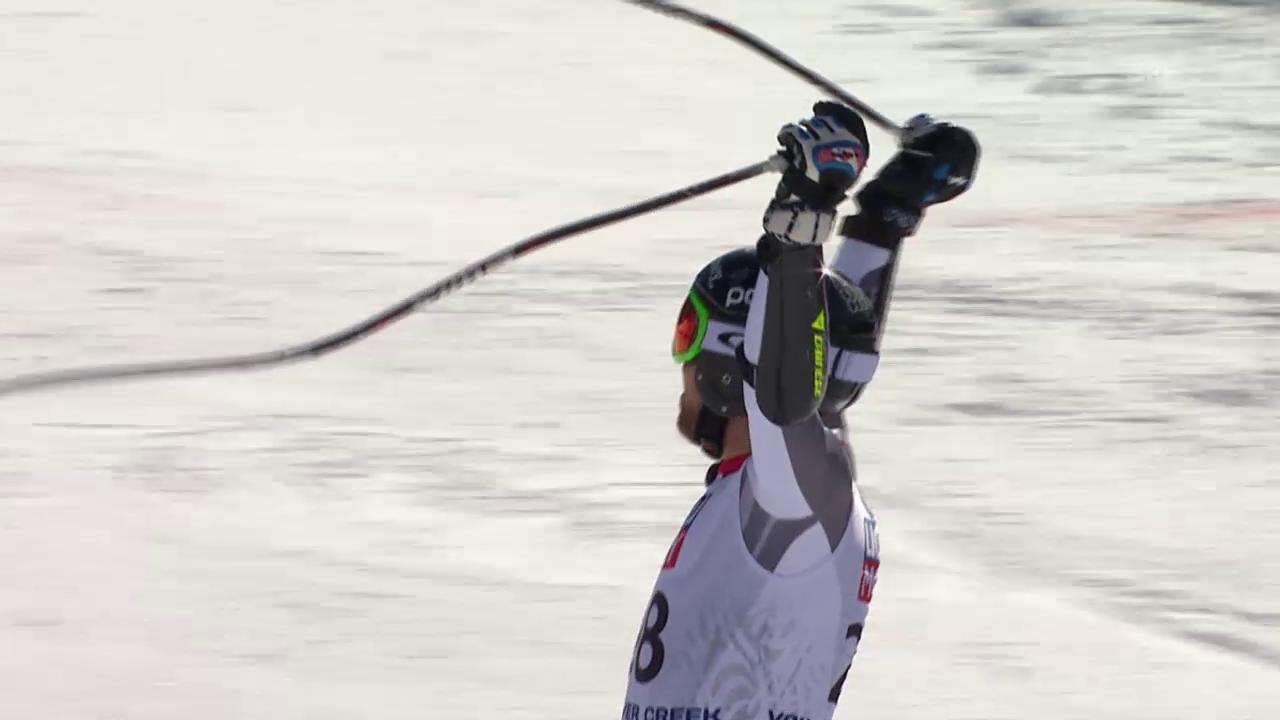 Ski: WM 2015 Vail/Beaver Creek, Super-G Männer, die Fahrt von Dustin Cook