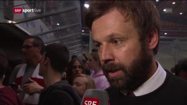 Video «Eishockey: Interview mit Zenhäusern» abspielen