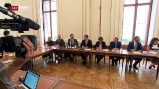 Video «Regierung entzieht Maudet Teil seiner Aufgaben» abspielen