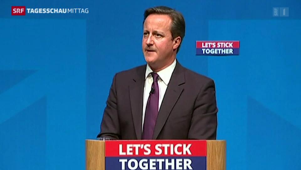 Cameron will Schotten umstimmen