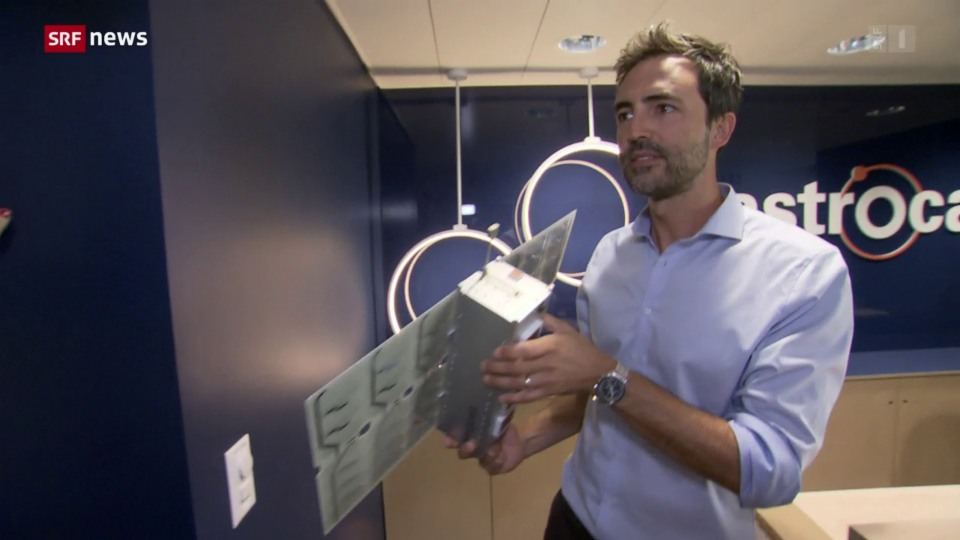 Vieira de Mello: Vieira de Mello: «Dank des Satelliten können Gegenstände selbstständig kommunizieren»