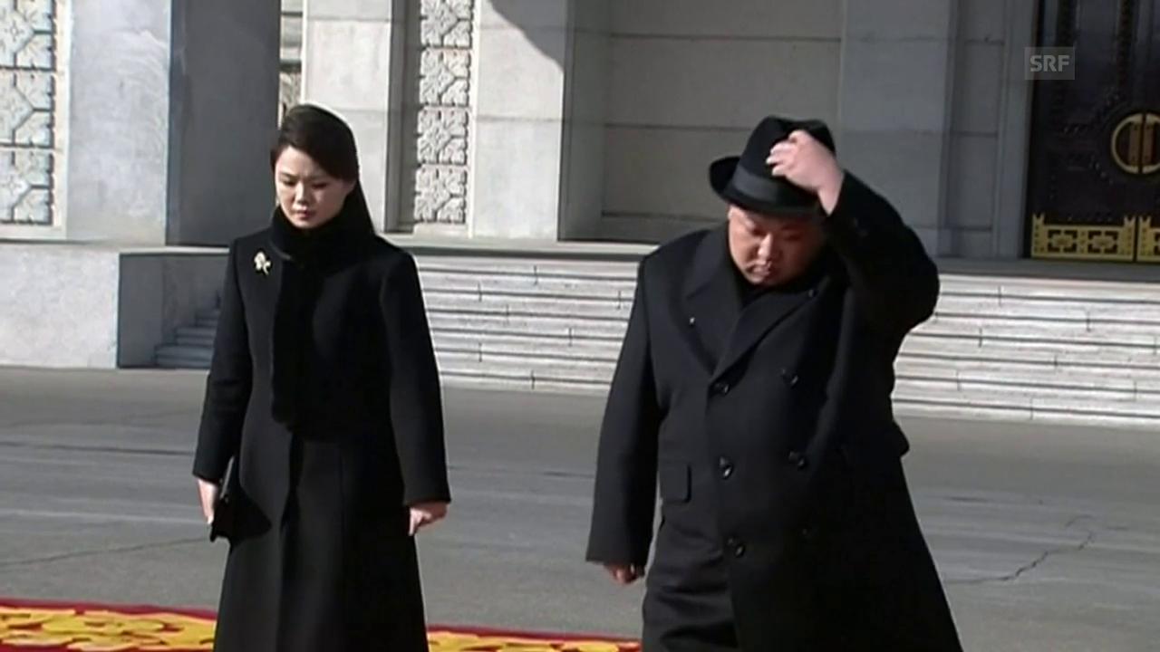 Militärparade in der nordkoreanischen Hauptstadt